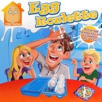 MiniTudou Egged Üzerinde Oyun ebeveyn-çocuk Interaktif Shocker Eğlenceli Komik Gadgets Yumurta Rulet Oyunları Antistres Anti Stres Oyuncaklar