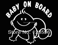Baby On Board Decal Sticker Car Window Sign SUV Truck Van Baby Safety Seat Baby in Car