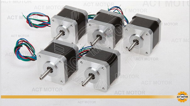 Nema17 stepper motor 60oz.in, 2.4A, 3D printer Marketbot Rapman 17HM5424