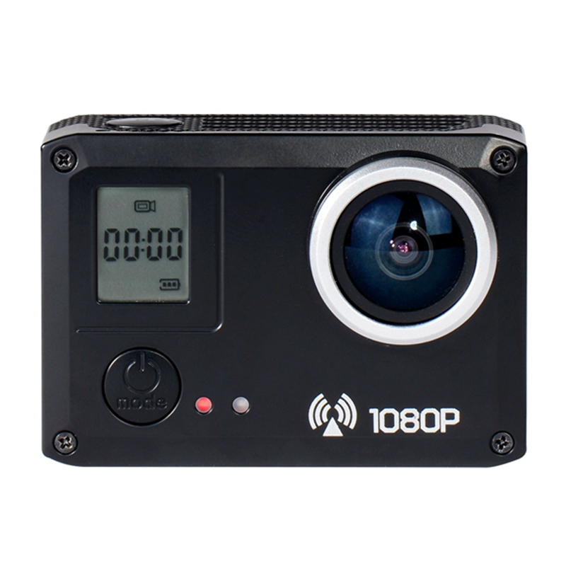 Sports Action Camera Strong and Stable Wifi Technology 170 Degrees Wide Angle Lens 20MP Support 32G Card f88 action camera black