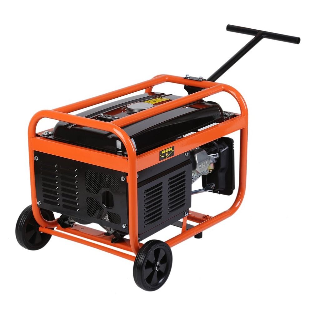 2500W Heavy Duty Portable Small Silent Low Fuel Consumption QS2500 Homeuse Petrol Generator Gasoline Engine For Boat RV NEW цена