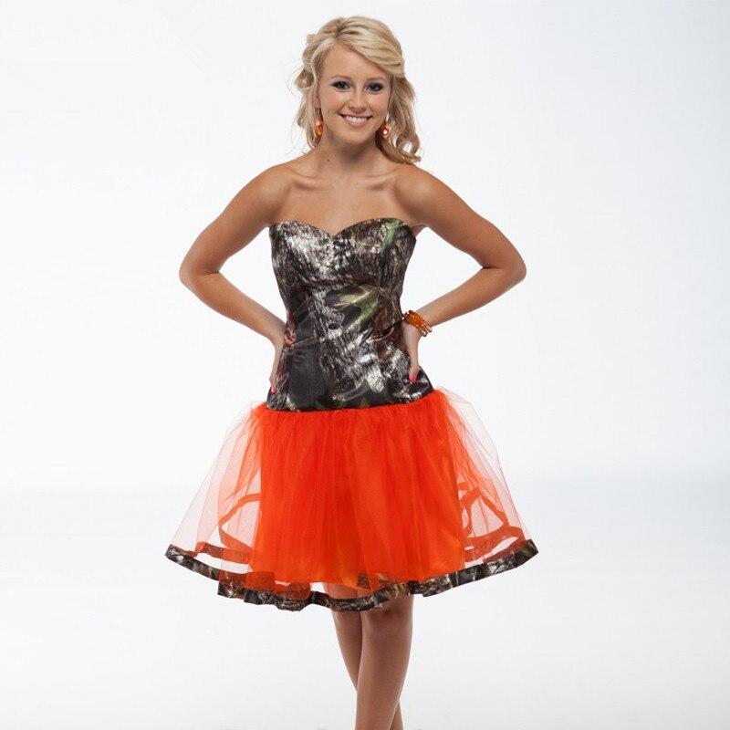 Emejing Orange And Camo Wedding Dresses Pictures - Styles & Ideas ...