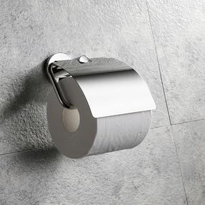 Image 2 - Vệ Sinh Inox 304 Đựng Giấy Cuộn Giấy Giá Phụ Kiện Phòng Tắm Chải & Gương Chrome Đánh Bóng 2 Sự Lựa Chọn
