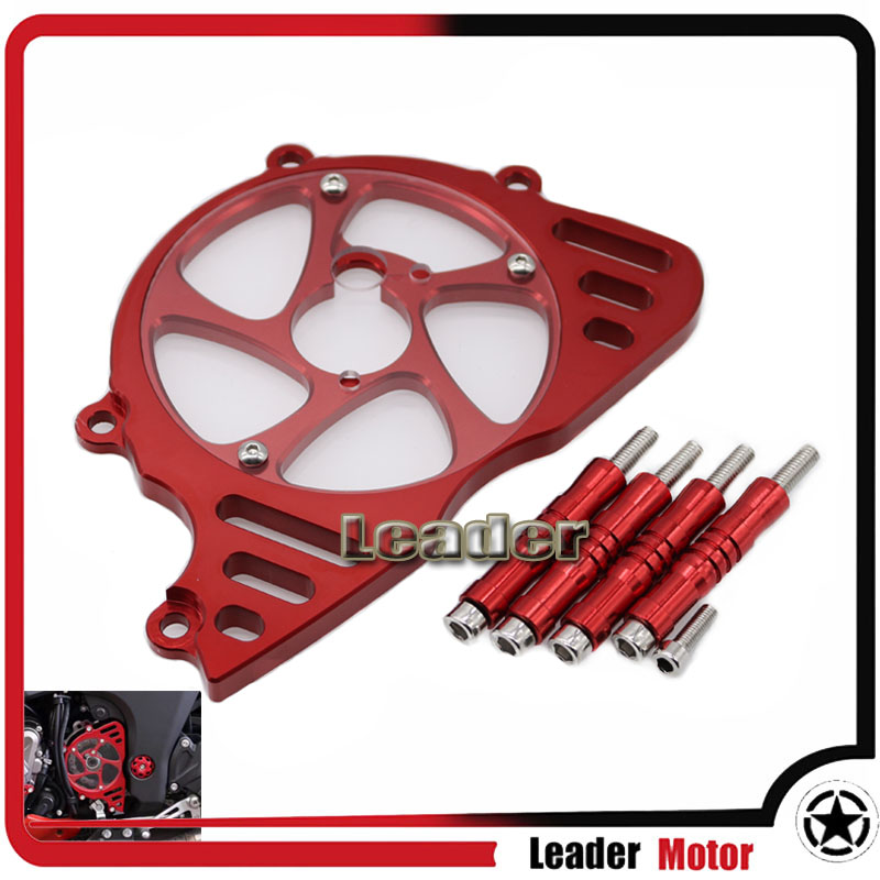 For KAWASAKI Z1000 Z 1000 2010-2016 Motorcycle Accessories Front Sprocket Chain Guard Cover Left Side Engine Red waase cnc aluminum front sprocket chain guard cover left side engine for kawasaki z1000 2014 2015 2016