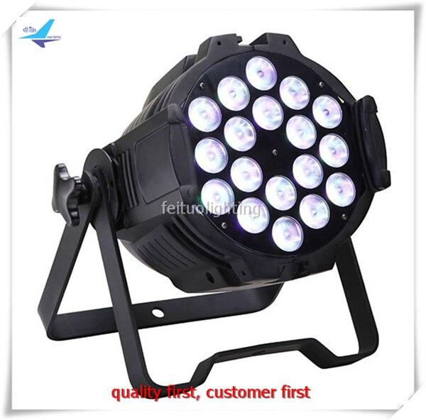 Y-6 pieces Super bright for stage rgbw color led par 18x10w dmx512 led par light free shipping 16 lot dmx 18x10w rgbw led par can light for stage decoration