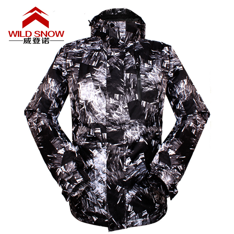 Top Quality men skiing jackets Breathable Waterproof Ski Jacket men Snow Winter men's ski clothing Thicken Warm Snowboard Jacket top quality hygroscopic breathable
