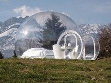 Бесплатная доставка пузырь надувная палатка с бесплатным CE/UL воздуходувки и комплект для ремонта(China (Mainland))