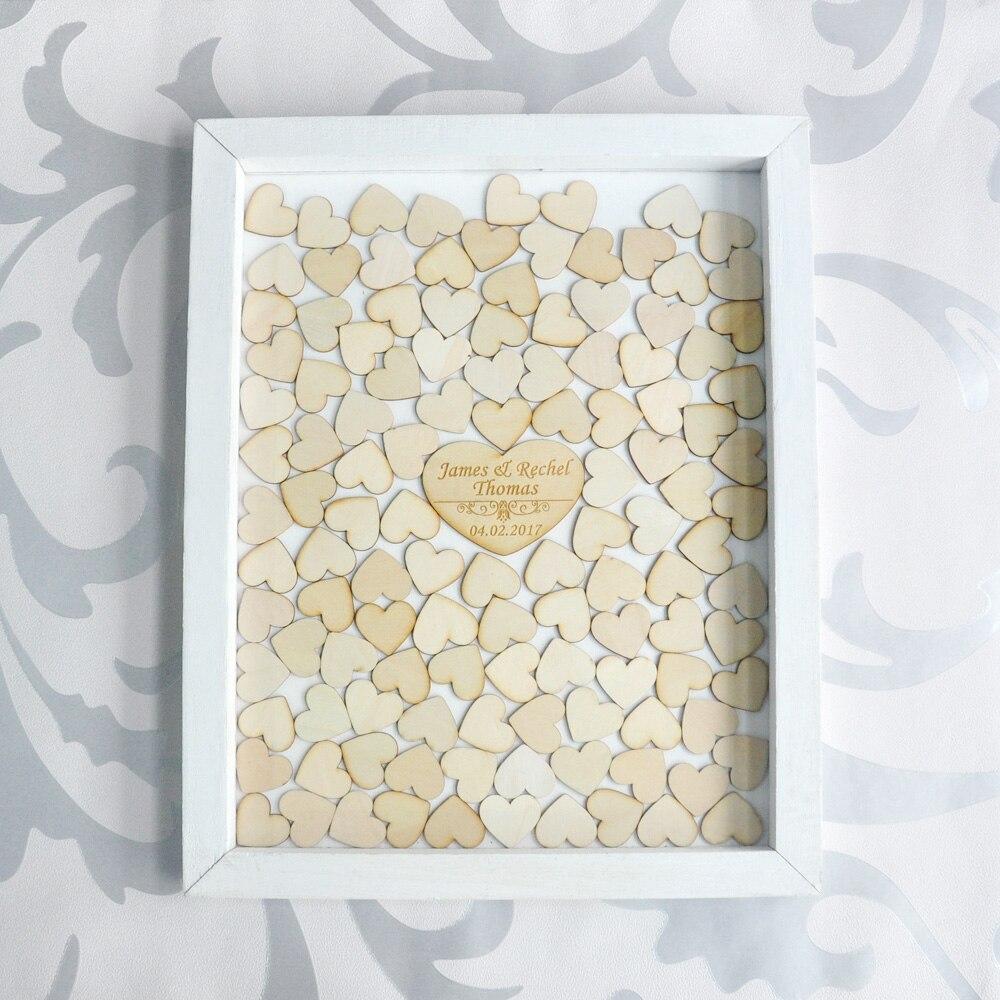 Benutzerdefinierte Hochzeit gästebuch, personalisierte Hochzeit Gast ...