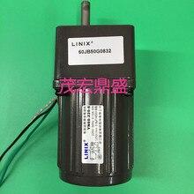 3 lines Constant speed Deceleration DC Motor LINIX Motor DC Gear Motor 60JB50G0832  YN60-220-6  new original