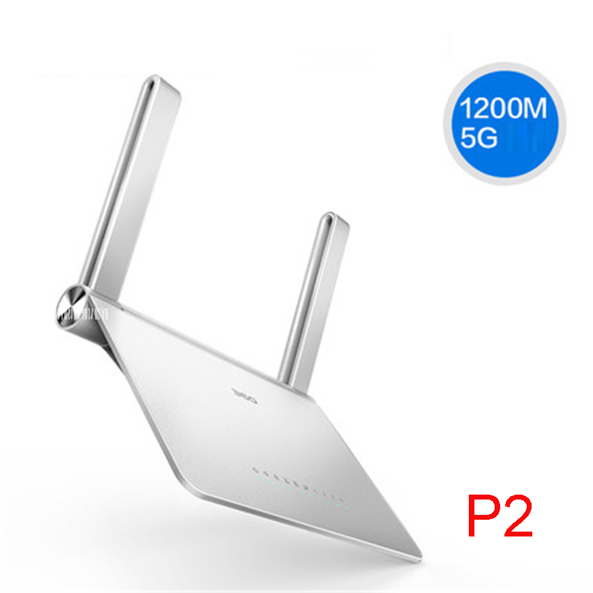 P2 Wireless router wifi 5G dual frequency gigabit home through the wall 1200mbps high-speed fiber through the wall of the king totolink a850r 1200mbps двухдиапазонный беспроводной маршрутизатор gigabit router