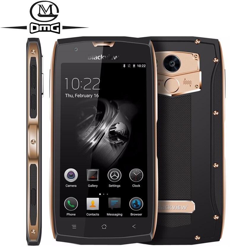 Оригинал Blackview BV7000 IP68 противоударный водонепроницаемый смартфон Android 7,0 MTK6737T 4 ядра 4G LTE 5,0 2 GB Оперативная память мобильного телефона