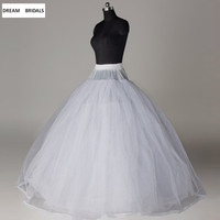 Hot Sale 8 Layers Petticoats Underskirt For Ball Gown Wedding Dress Underwear Crinoline Wedding Accessories 2018