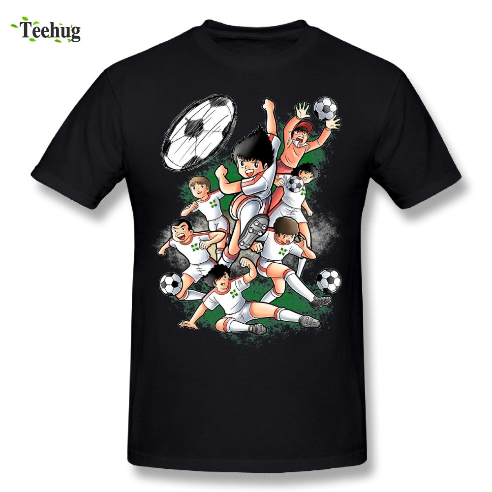 Captain Tsubasa T Shirt For Man Novelty Design With Quality 100% Cotton Fashion Tees T-shirt