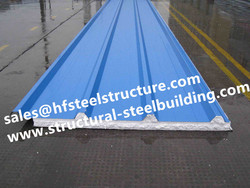 Chinese manufacturer Cold Room Corrugated EPS Sandwich Metal Roofing Sheets Wall Panels