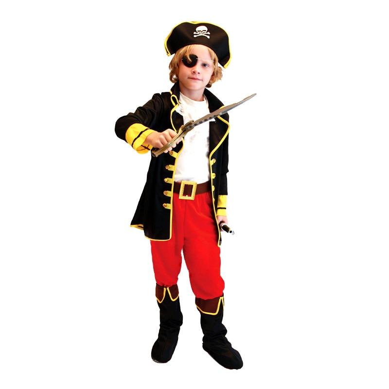 barn pojkar pirat kostymer / cosplay kostymer för pojkar / halloween - Maskeradkläder och utklädnad - Foto 2