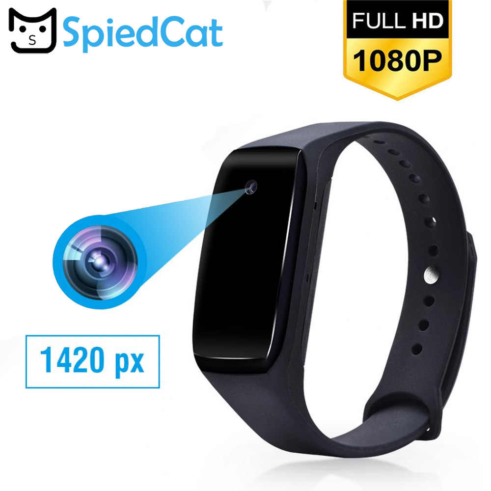HD 1080P Smart Bracelet Camera Mini Camera Wristband 14.2 Million Pixels Wearable Device Bracelet Cam