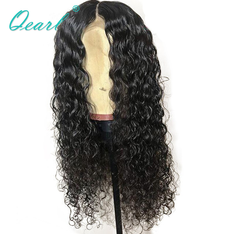 Qearl Hair Lace Front Human Hair Wigs With Baby Hair Loose Curly 150% Density 360 Lace Frontal Wig Pre Plucked Remy Hair Wig