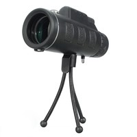 40X60 Zooming Portable HD Dual For Focus Optical Prism Monocular Telescope With For Compass Phone Photograph