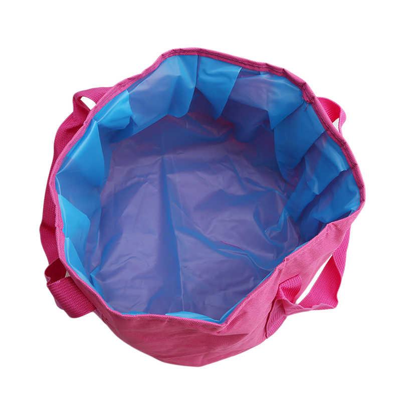 Складной портативный Открытый Путешествия складной кемпинг умывальник ведро чаша раковина мойка мешок ведро воды горшок для воды