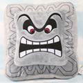 5pcs/lot 33cm Large Size Super Mario Bros Thwomp Dossun Cushion Pillow Plush Doll Soft Plush Stuffed Toys Wholesale
