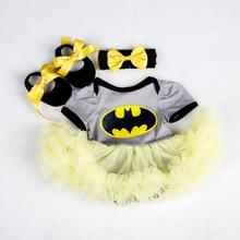 Мой первый Пасхальный ребенок костюмы-комбинезоны платье Супермен Бэтмен одежда детская одежда комбинезон Одежда для новорожденных девочек одежда для младенцев