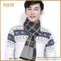 Nueva! borla de la tela escocesa hombres de invierno para hombres hombres bufanda bufanda caliente de moda ventas calientes del envío gratis