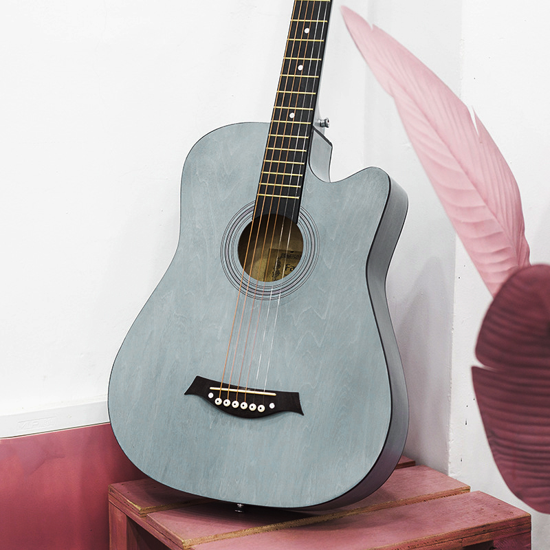Stringed Instrument 38 Inch Acoustic Guitar Student Practice Guitar Beginner Guitarra Excellent Basswood Guitar AGT59Stringed Instrument 38 Inch Acoustic Guitar Student Practice Guitar Beginner Guitarra Excellent Basswood Guitar AGT59