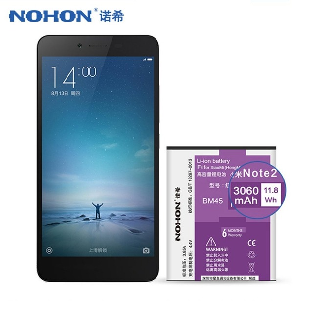 4000mAh Battery For Xiaomi Redmi Note 4 Hongmi Note 4 Original Mobile Phone Batteries Retail Package for Redmi Note 4