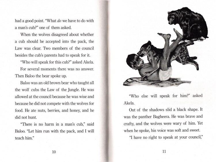 The Jungle Book books for children picture books