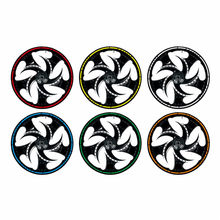 "16 Pcs 18 ""Strips Motorfiets Auto Wiel Tire Stickers Reflecterende Velglint Motorbike Auto Decals #281304(China)"
