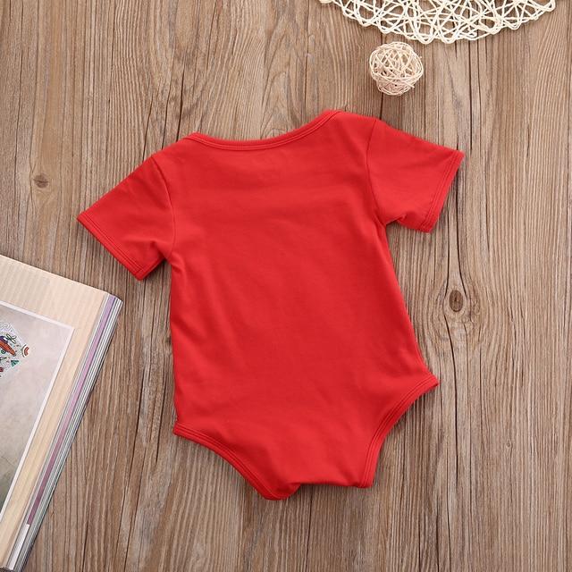 3286a5171 Hallowee Newborn Baby Kids Girls Boys Merry Christmas Romper Santa ...
