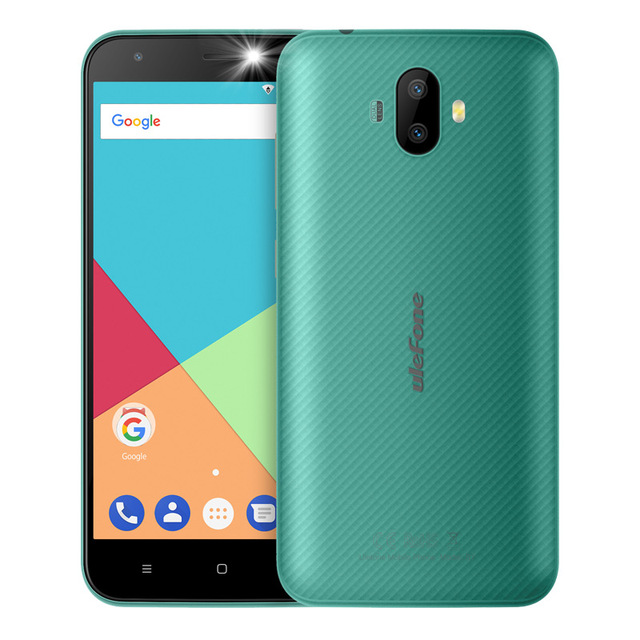 Ulefone S7 5.0 inch HD 3G WCDMA Smartphone  Dual rear camera MTK6580 Quad Core Three Slots 8GB ROM Android 7.0 Mobile phone