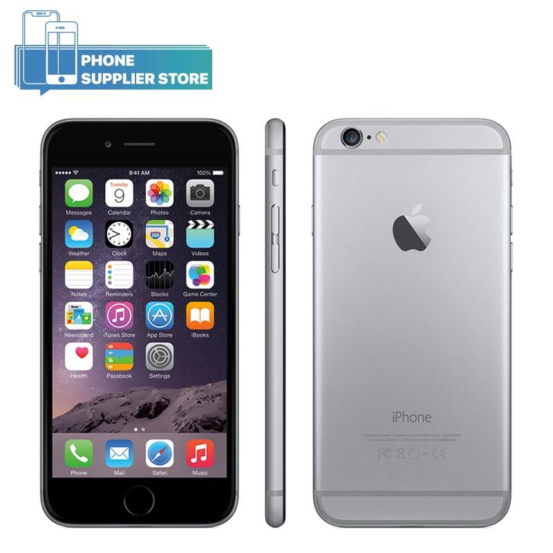 Original Apple Iphone 6 Plus Mobile Phone 16GB/64GB/128GB ROM 5.5 Inch Screen Dual Core 8MP Camera Fingerprint4G LTE Smartphone