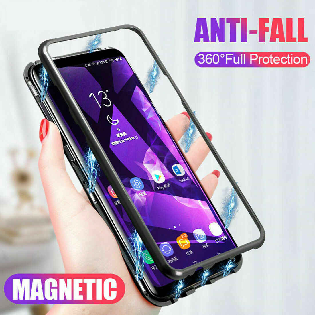 360 Magnetic Adsorption Case for Huawei P30 P20 Lite P10 Plus Nova 2S 2i 3 3i 3e 4 4e Y6 Prime 2018 Y9 2019 Mate 10 20 20X Cases