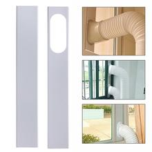 2Pcs 84-120cm Mobile Air Conditioner Universal Adjustable Window Sealing Plate Splint Baffle Airconditioner Hvac Slide Kit Plate