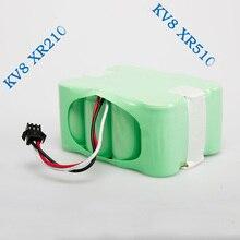 XR510 серии 2200 мАч Ni-Mh Пылесос Аккумулятор для KV8 или Cleanna XR210 серии и XR510 серии Робототехники Батареи