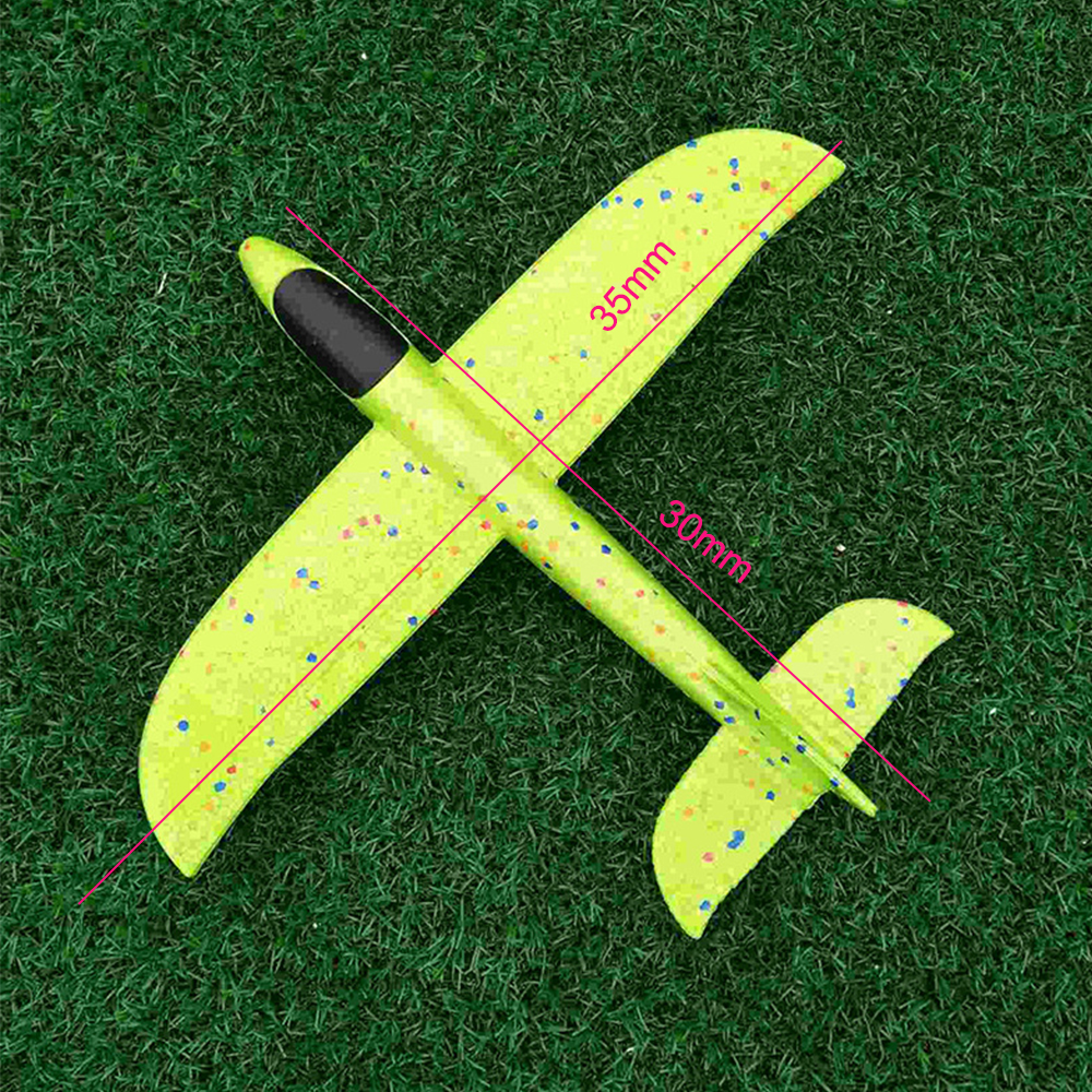 1pc 48cm Hand Launch Throwing Glider Aircraft Toys Boys Girls Funny Foam Airplane Toy Children Plane Model Outdoor Fun Toys #cs Toys & Hobbies