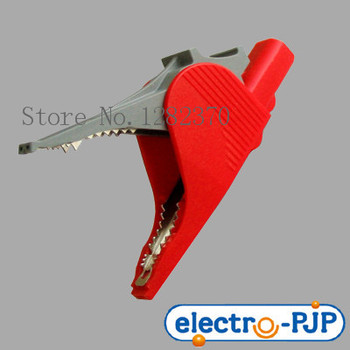 [SA] Import large opening insulated alligator clips large current 5066-IEC 36A --10pcs/lot