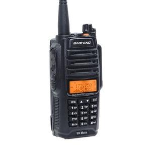Image 2 - Baofeng UV 9R Mate 4500 mAh 10 W Aggiornamento UV 9R Più IP67 Impermeabile Walkie Talkie per CB Stazione Radio di Prosciutto 10 KM Lungo Raggio VHF UHF