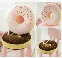 Chocolate Donut Pillow Thicken Cushion Napping Pillow Cushion Pillow