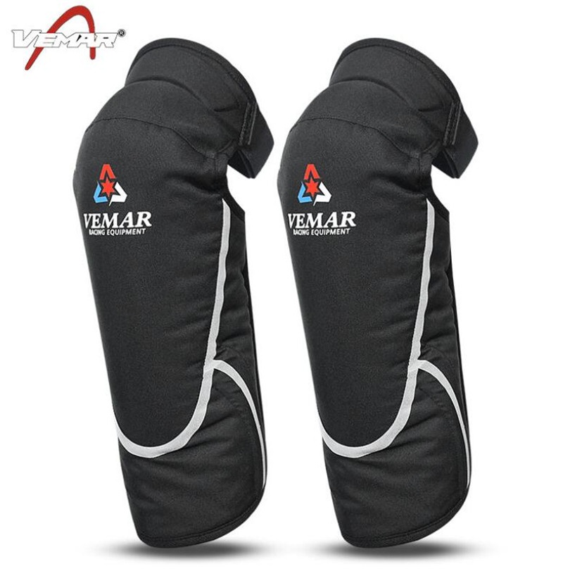 VEMAR Guard Ski Protective Gear Moto Autumn Winter Warm Cold proof Windproof Kneep Motorcycle Knee Pads Knee Protector in Motorcycle Protective Kneepad from Automobiles Motorcycles