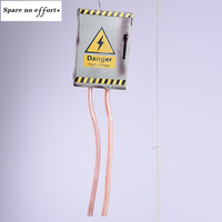 Halloween High Voltage Decoration Retro Electric Gate Toys Ghost Festival Horror Glowing Jitter Bar Switch Props Wholesale