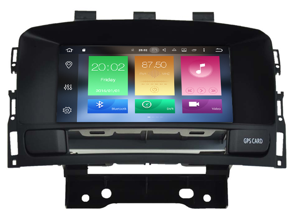 Android 6.0 CAR Audio DVD player FOR Vauxhall Astra (2010-2013) gps Multimedia head device unit receiver BT WIFI