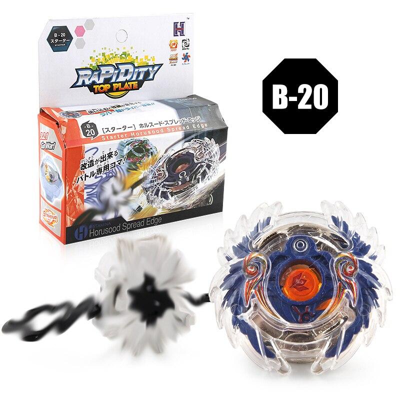 Beyblade взрыв 3052 b-20 Прядильный механизм с Launcher Металл Fusion 4D Прядильный механизм Рождественский подарок Игрушечные лошадки для детей Бесплатна...