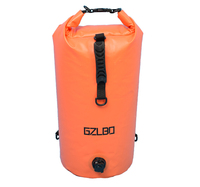 GZLBO Waterproof Dry Bag Roll Top Dry Compression Sack Keeps Gear Dry For Kayaking Beach Rafting