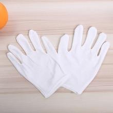 WZG 2018 Новые перчатки этикет перчатки защитные перчатки хлопчатобумажные белые перчатки