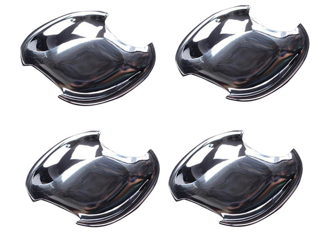 For Toyota Prius Fourth Generation XW50 2016 ABS Car Door Handle Bow Decorative Cover Trim Glossy 4PCS