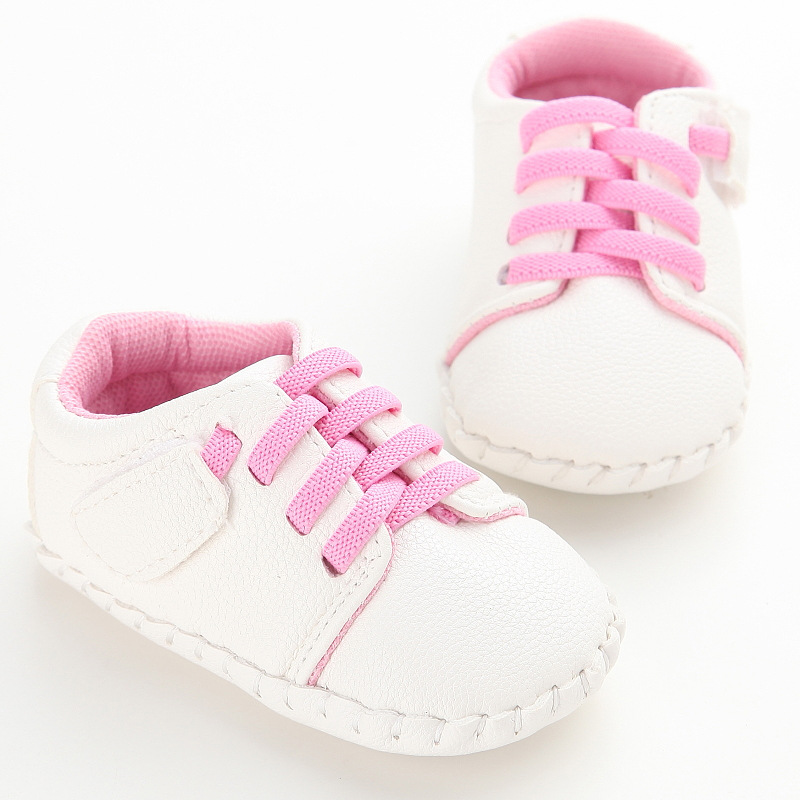 Spring And Autumn Men And Women Baby PU Plastic Casual Baby Toddler Shoes