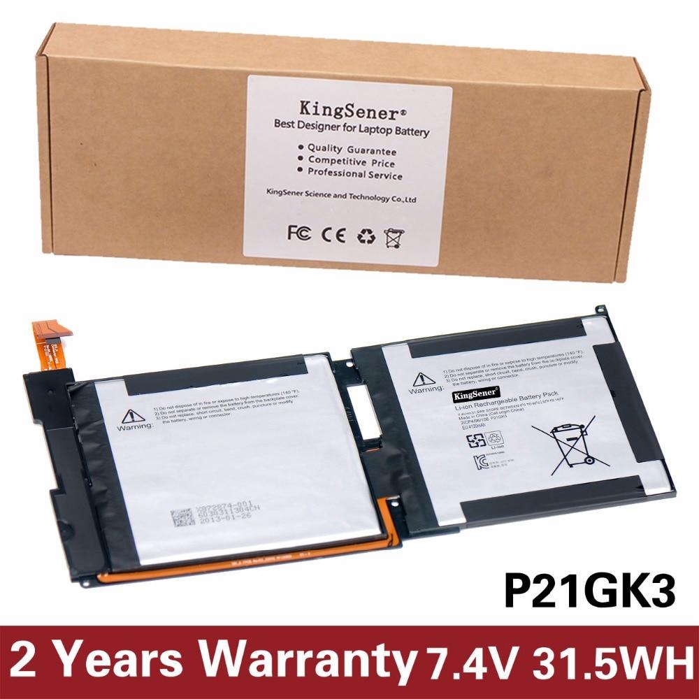 KingSener New P21GK3 Laptop Battery For SAMSUNG SDI Microsoft Surface RT 1516 P21GK3 21CP4/106/96 7.4V 31.5WH
