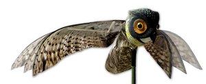 Image 1 - Натуральная поддельная сова, приманка, смочок, птица, вредители с движущимися крыльями, Реалистичная пугающая птица, крыса, мыши, грызуны